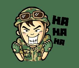 Hearty & Happy Soldier sticker #1954325