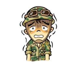 Hearty & Happy Soldier sticker #1954327