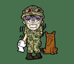 Hearty & Happy Soldier sticker #1954334
