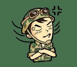 Hearty & Happy Soldier sticker #1954336