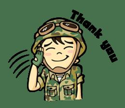 Hearty & Happy Soldier sticker #1954351