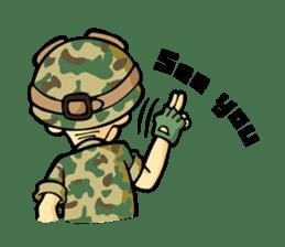 Hearty & Happy Soldier sticker #1954354