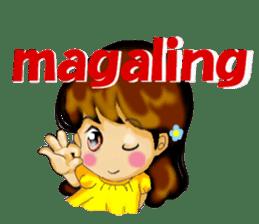 Let's talk in Tagalog. sticker #1955680