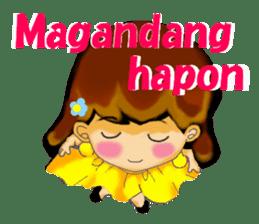 Let's talk in Tagalog. sticker #1955693