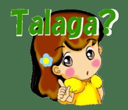 Let's talk in Tagalog. sticker #1955695