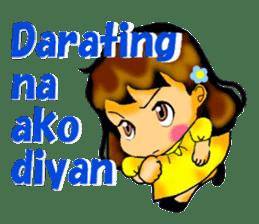 Let's talk in Tagalog. sticker #1955697