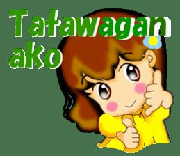 Let's talk in Tagalog. sticker #1955705