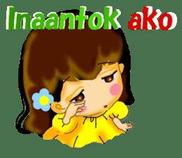 Let's talk in Tagalog. sticker #1955711