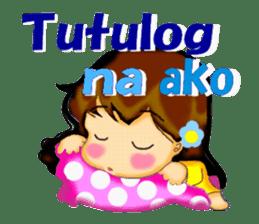 Let's talk in Tagalog. sticker #1955712