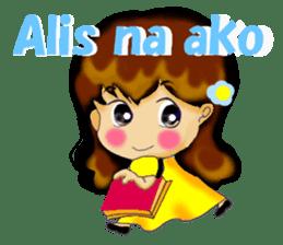 Let's talk in Tagalog. sticker #1955715