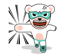 shirokuma and shirousagi mask sticker #1956038