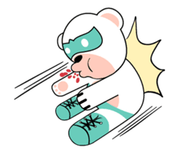 shirokuma and shirousagi mask sticker #1956053