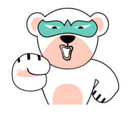 shirokuma and shirousagi mask sticker #1956056