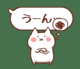 balloon and cat sticker. sticker #1963470