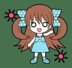 Cheerful moe girl, Meitan! [ENG] sticker #1966717