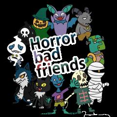 Horror bad friends all English
