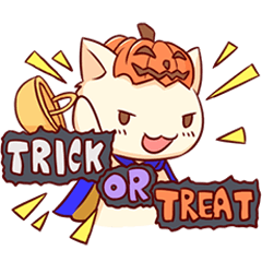 Meow mew world in Halloween