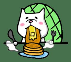 Tortoise cat sticker #1978565