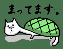Tortoise cat sticker #1978577
