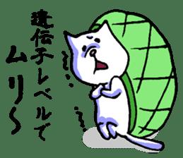 Tortoise cat sticker #1978587