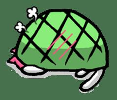 Tortoise cat sticker #1978591