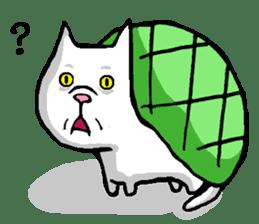 Tortoise cat sticker #1978593