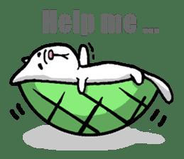 Tortoise cat sticker #1978601