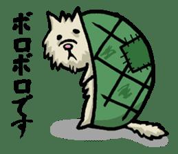 Tortoise cat sticker #1978603