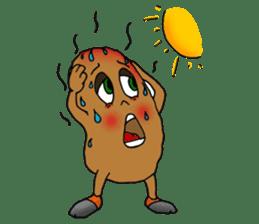 French potato sticker #1983806