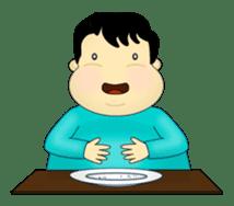 Fat Kid sticker #1990605