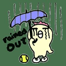 "Here comes a Tennis Nut chick ""Hiyokko""! sticker #1991211"