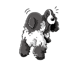 English Cocker Spaniel sticker #1992550