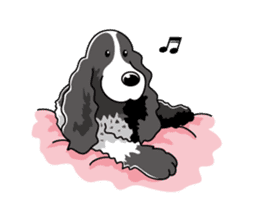 English Cocker Spaniel sticker #1992561