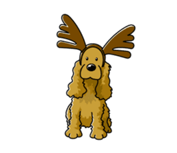English Cocker Spaniel sticker #1992564