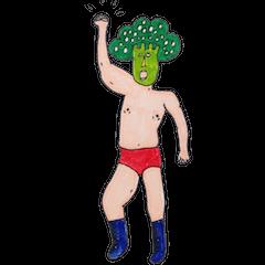 Broccoli Wrestler