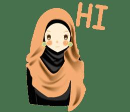 lovely Hijabi sticker #1995005