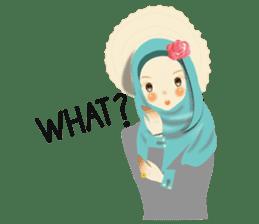 lovely Hijabi sticker #1995006