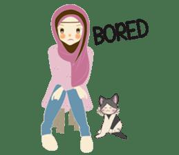 lovely Hijabi sticker #1995007