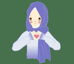 lovely Hijabi sticker #1995008