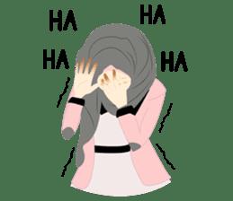 lovely Hijabi sticker #1995013