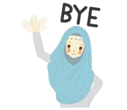 lovely Hijabi sticker #1995019
