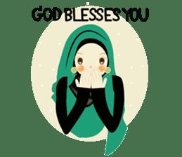 lovely Hijabi sticker #1995020