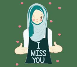 lovely Hijabi sticker #1995026
