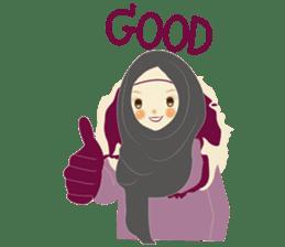 lovely Hijabi sticker #1995029