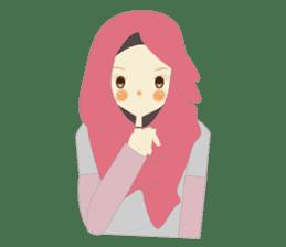 lovely Hijabi sticker #1995031