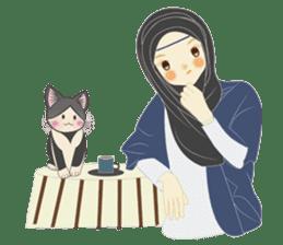 lovely Hijabi sticker #1995035