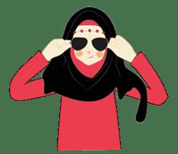 lovely Hijabi sticker #1995037