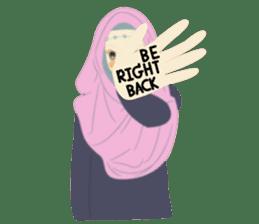 lovely Hijabi sticker #1995040