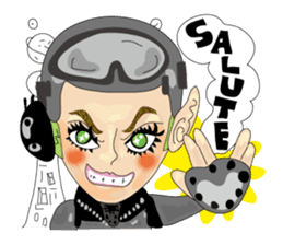 Cheesy People in Tokyo (Eng ver.) sticker #1997007