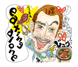 Cheesy People in Tokyo (Eng ver.) sticker #1997035